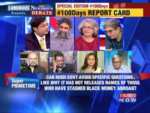 The Newshour Debate: Government's 100 Days report card - Part 2 (2nd September 2014)