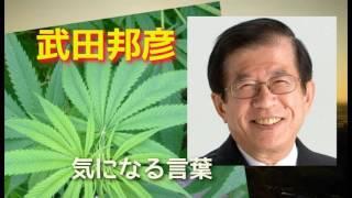 【武田邦彦】 大麻の誤解