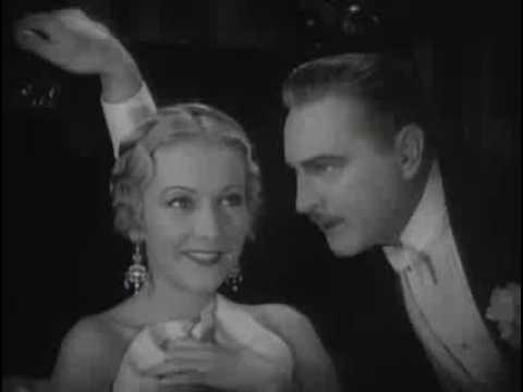 Arsène Lupin 1931. Dir. Jack Conway   How do you like my bed   John Barrymore & Karen Morley