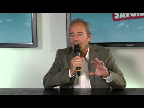 Foire de Savoie - Plateau TV avec Jean-François CLERVOY