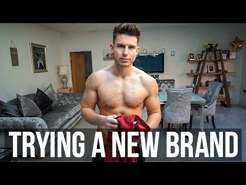 TRYING A NEW CLOTHING BRAND | Mens Clothing Haul Vlog