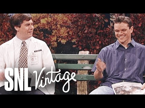 Dr. Matt Damon Confronts Matt Damon - SNL