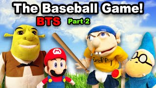 SML Plays A Baseball Game! BTS! | Epic FAIL | pt. 2