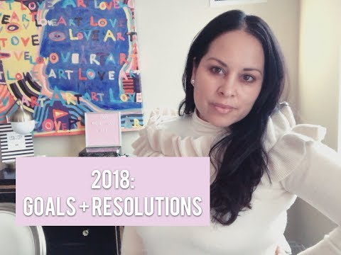 2018 GOALS & RESOLUTIONS | Lisa in the City