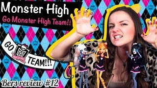 Сет веркошек черлидеров/Monster High Fearleading Set Ghoul Spirit Обзор и Распаковка Review Y7297
