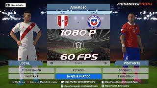 PES 2016 - Perú vs Chile (ELIMINATORIAS - Fecha 2) 1080p 60fps