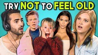 adultos reaccionan a intentar no sentirse viejos challenge #2 (ft.Eliza Taylor)