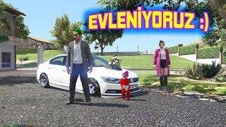 Joker and Elena get married Wedding convoy (Bride's car is very nice :)