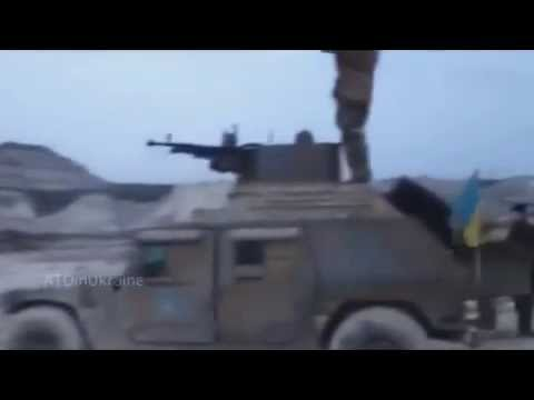 Humvee with the ANC armed, UAF
