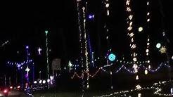 Christmas Lights Blackhawk Bluff Jacksonville, FL 2018