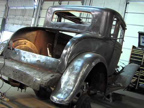 Classic Local Race Car Being Restored After Fire Youtube