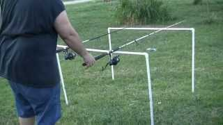 How To Make A Cheap Catfish Fishing Rod Holder Out Of Pvc Pipe