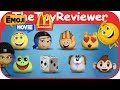 2017 Emoji Movie McDonalds Happy Meal COMPLETE SET 8 Unboxing Toy Review by TheToyReviewer