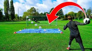 Crazy SLIPPERY Goalkeeper BATTLE! Wİth @ARS Goalkeeping