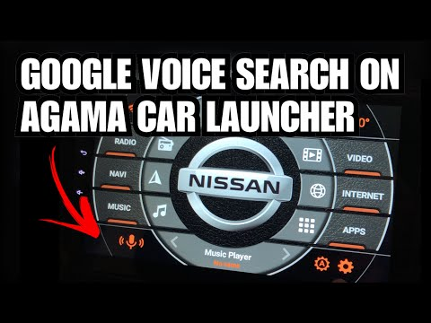 Google Voice Search In Agama Car Launcher