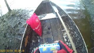 Рыбалка на озере браконьерские сети