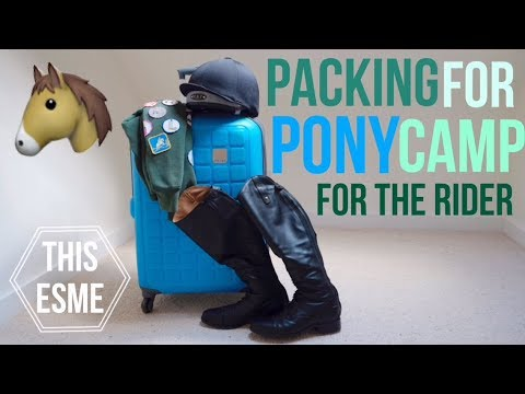Packing for Pony Club Camp - For the Rider | This Esme