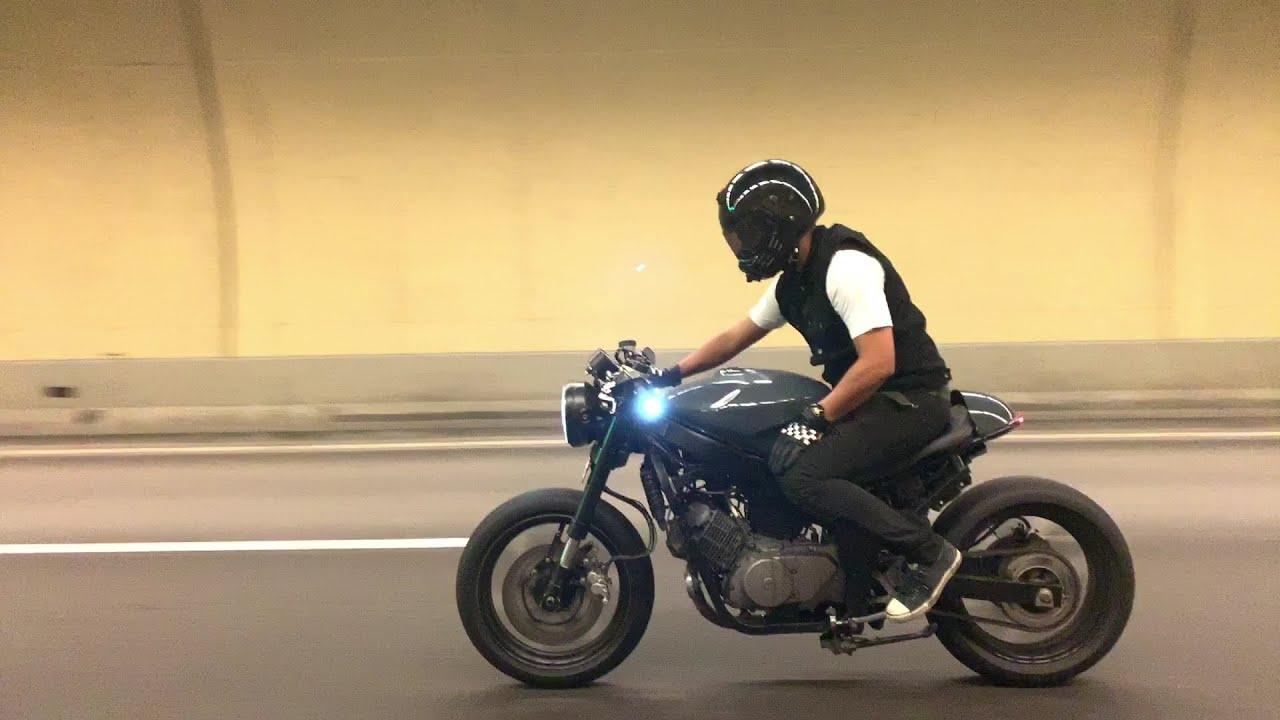 Naza Blade 250 Cafe Racer Custom Youtube