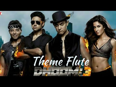 Dhoom Theme Music on Flute by Darshan Patel