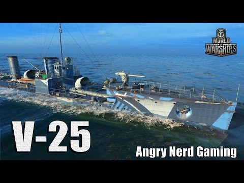 World of Warships: The V 25