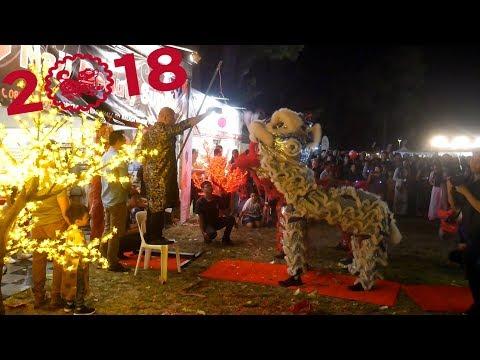 2018 Lion Dance Múa Lân Vietnamese Lunar New Year Hội Chợ Tết Perth Australia - GDPT Chánh Tín