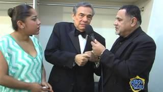 José José en Entrevista con Ernesto Sifuentes y Ana Lilia Cruz en Monclova, Coahuila. México.