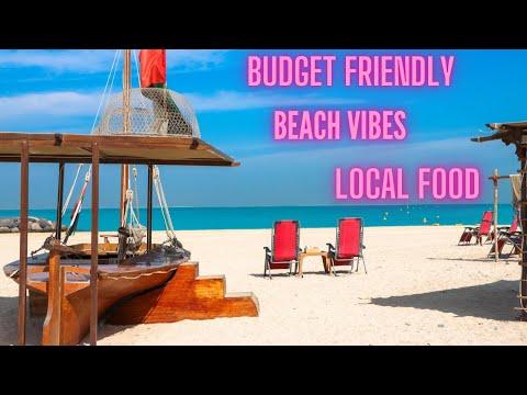 BEACH RESTAURANT DUBAI || BUDGET FRIENDLY LOCAL FOOD || JUMEIRAH BEACH | KITE BEACH || TENT JUMEIRAH