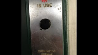 Vintage 1950's Burlington Burwak Hydraulic Elevator At 1295 Northern Boulevard - Manhasset, Ny
