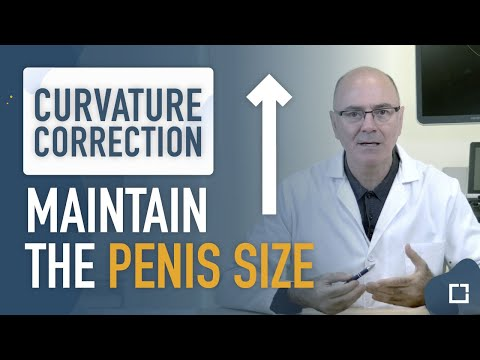 PENILE CURVATURE CORRECTION WITH MINIMUM SHORTENING of the penis with a new technique from Andromedi
