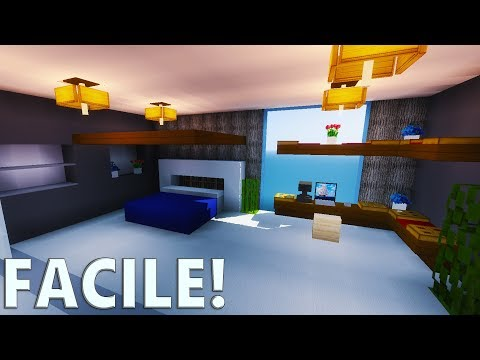 TUTO CHAMBRE MODERNE ULTRA RÉALISTE ! | Minecraft - YouTube