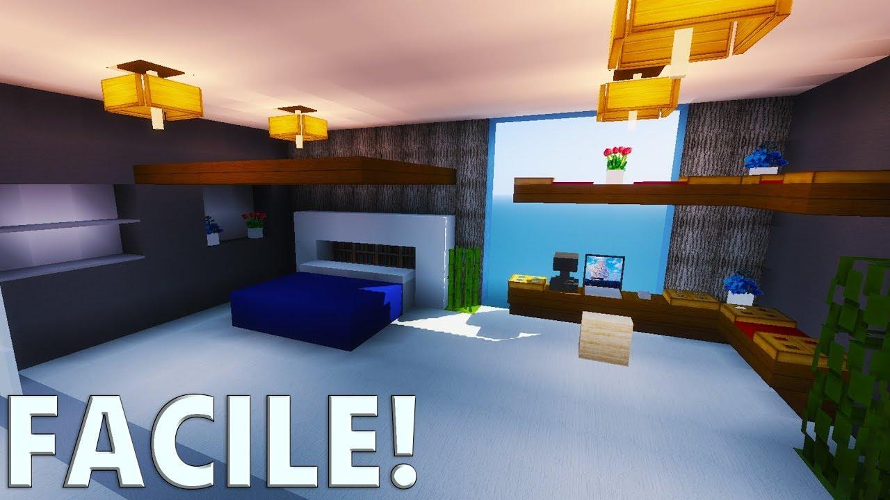 TUTO CHAMBRE MODERNE ULTRA RALISTE   Minecraft  YouTube