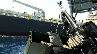 Visite du tanker japonais endommagé dans le Golfe d'Oman | AFP Images