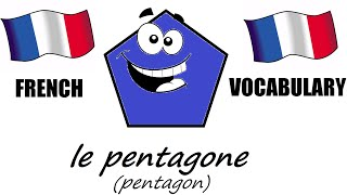 French Lesson 1 - SHAPES Vocabulary - Learn French - The French Minute