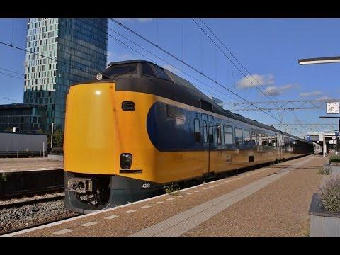 Treinen in Amsterdam Zuid - 31 juli 2016