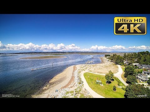 4K  Crescent Beach Surrey BC Canada