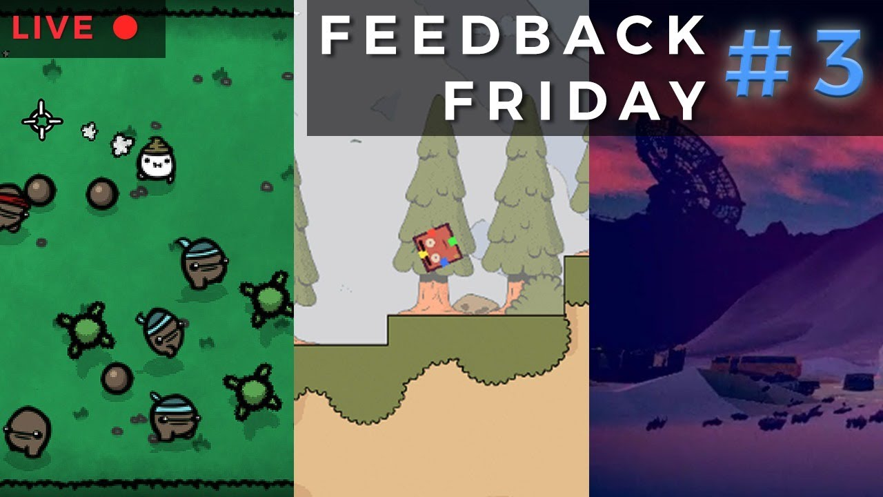 Feedback Friday #3: Lost Potato, Hoplegs, and Cor Mechanica