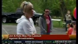 Jon & Kate May File Lawsuit - Bloomberg