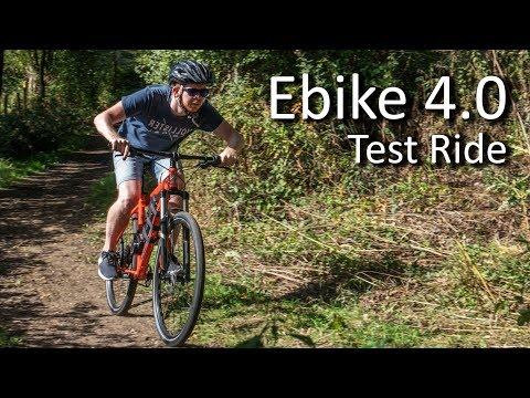 Electric Bike 4.0 - First Test ride