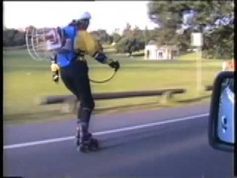 Jetpack, Australian Inline Skating, Steph, Sydney 1992.