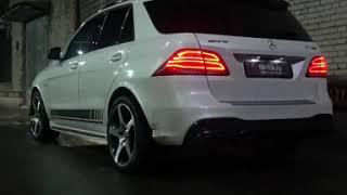 Тюнинг выхлопной системы Mercedes ML63 AMG