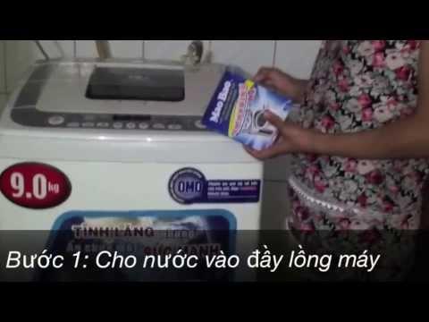 Cách vệ sinh lồng máy giặt