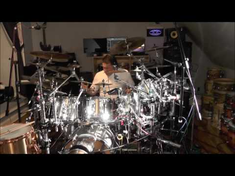 "Mofo on Drums, Dunnett Titanium cover of Queen/David Bowie ""Under Pressure"" Roger Taylor"