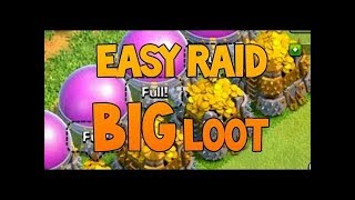 How to get fast loot in clash of clans||millions of loots in hours|| Get rich in no time||drk raids