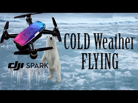 Flying Your SPARK in Cold Weather | YES It Will Work