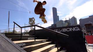 Skateboarding tricks with the slow motion camera. Awesome tricks. BEST QUALITY HD