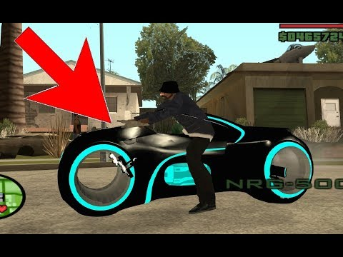 Riding Across The Map With A Homie On A Tron Legacy Bike - GTA San Andreas (mod)