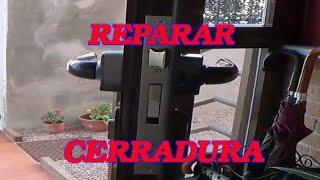 COMO REPARAR CERRADURA. SE ATASCA. (LOCK REPAIR. STALLS)
