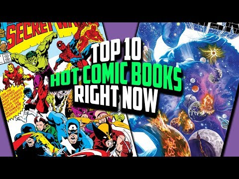 Top 10 Hottest Comic Books Right Now - x10 Hottest Comics of the Week