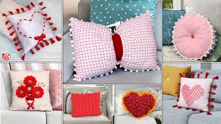 7 Cushion Cover | Old Clothes to New DIY Cushion Making