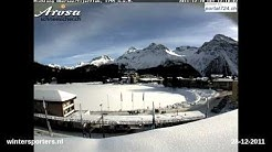 Arosa webcam time lapse 2011-2012